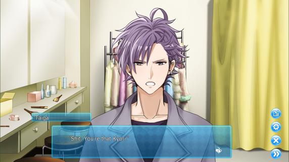Shit. You're that Kyori.